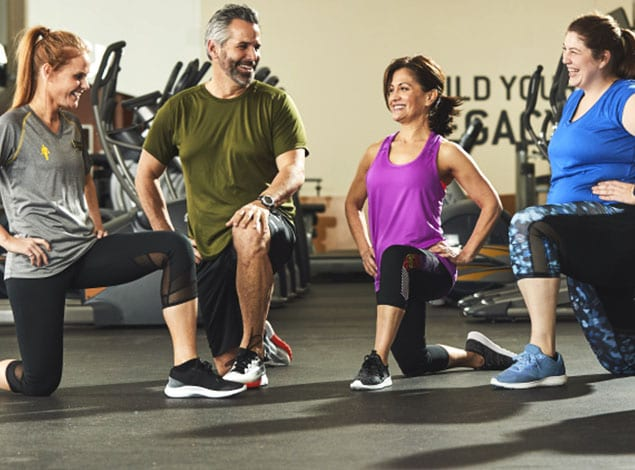 Exciting Group Fitness class at Golds Gym Mechanicsville