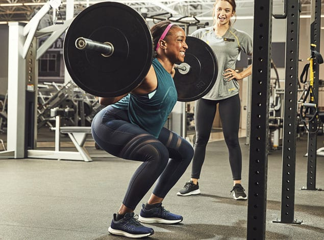 Strength Training with experts at golds gym mechanicsville