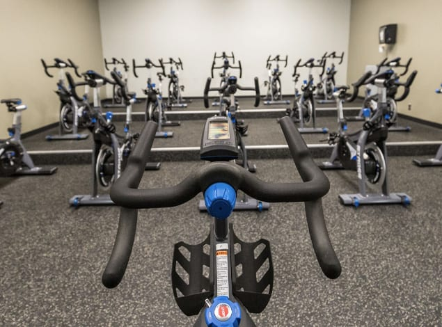 spin class at Richmond Golds Gym